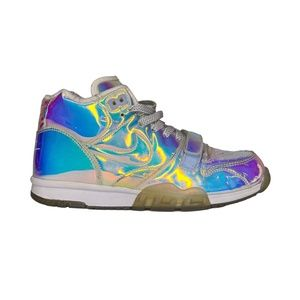 NIKE AIR TRAINER 1 MID PRM QS ICE BLUE SNEAKERS (10.5 US)